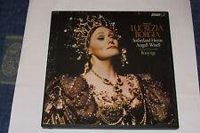 DONIZETTI - Lucrezia Borgia - LONDON 3 LP BOX ORIGINAL USA - BONYNGE, Sutherland
