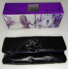 Vintage Avril Lavigne Forbidden Rose Black Clutch Bag
