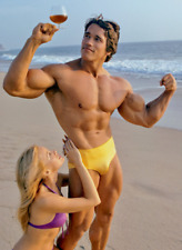 More details for arnold schwarzenegger poster print as11 a5-a4-a3-a2-a1 or framed option
