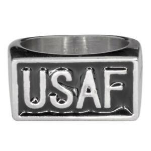 Men's Stainless Steel USAF Ring 101 / 1724