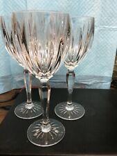 New listing Three Fine Glass Goblets-gl/cl