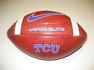 2021 TCU Horned Frogs GAME BALL Nike Vapor Elite Football Texas Christian Univ