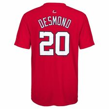 Majestic Athletic Youth Washington Nationals Ian Desmond Player Name and Number Small