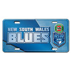 State of Origin NSW New South Wales Blues LICENCE PLATE TIN SIGN Man Cave Shed