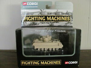 M2A2 BRADLEY OP IRAQI FREEDOM TANK CORGI FIGHTING MACHINES DIE CAST