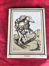 Ravi Zupa Compound Interests Series- Fortitude- Signed & #/ Print on Wood