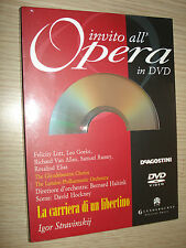 INVITACIÓN EN LA ÓPERA DVD N°50 EL CARRERA UN LIBERTINO STRAVINSKY LONDON LOTT