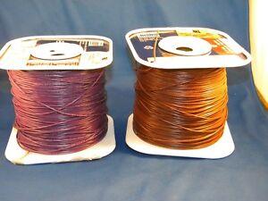 2 Belden Wire Spools .22 AWG 9921-1 & 9921-7