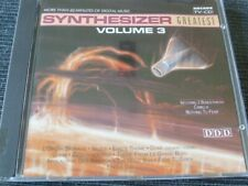 "CD ""Synthesizer Greatest - Volume 3"" / 51.696"