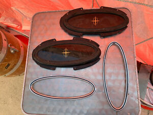 75 76 77 78 79 Lincoln Continental Mark IV V Town Car Oval Opera Window Pair
