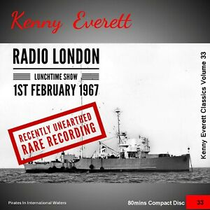 Not Pirate Radio Kenny Everett Radio London Feb 1967 Recently Unearthed