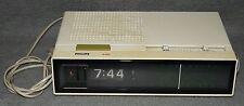 Philips Radiowecker 440 Uhrenradio Wecker Radio Synchromotor 70er Jahre Vintage