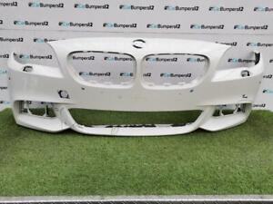BMW 5 SERIES F10 F11 LCI M-SPORT FRONT BUMPER 14 -17 WITH PDC/WASH JET HOLES*O4
