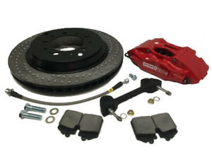 2007-2020 Toyota Tundra SOS Rear Big Brake Kit w/ Stoptech 4 Piston calipers TRD