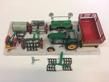 Kovap (0415) - AGRO set n°7 - Tracteur avec accessoires - 1/25