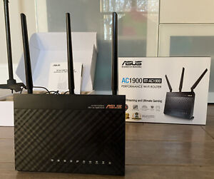 ASUS RT-AC1900 Wireless Dual Band Gigabit Router Barely used In Box
