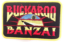 "Buckaroo Banzai Patch- Jet Car Logo 5"" Embroidered Patch- USA Mailed (BZPA-02)"