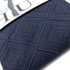 Cobblestone Gray Opaque Tights XXS/XS Diamond Textured by HUE