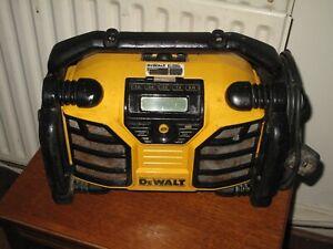 DEWALT DCR017 Site DAB / FM Radio .Works perfectly, Great condition