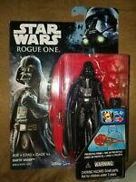 NIP Hasbro Star Wars Rogue One Darth Vader Projectile Firing Action Figure