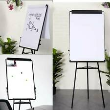 UK Tripod Whiteboard Magnetic Large Standing Flip chart Easel Lightweight Pro
