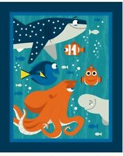 FINDING DORY QUILT PANEL * NEW * IN STOCK * FREE POST * 🐳