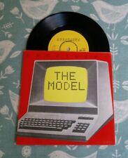 "Kraftwerk The Model Computer Love 1981 UK 7"" Pic Sleeve A1 B1 Ex/Ex Electro Pop"