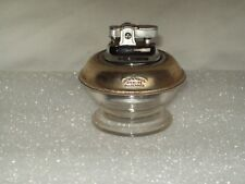 Vintage ~ Frank M Whiting ~ Sterling Silver & Glass ~ Small Table Top Lighter