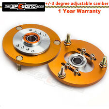 For BMW 3 Series E36 318 328 323 325 M3 Front Coilover Top Mount Camber Plate