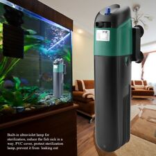 5/9W Aquarium Fish Tank Submersible Water Filter Oxygen UV Sterilizer Lamps 2020