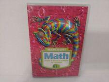 Harcourt Math Grade 6 Student Edition On Cd-Rom Win/Mac New Loc # B132