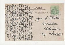 Miss Clare Baker Knellitone Udimore Rye 1908  299a