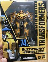 Transformers Studio Series 74 Deluxe Class Buzzworthy Bumblebee Camaro Revenge