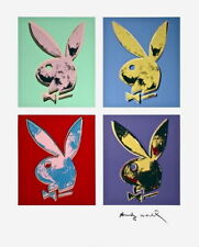 Playboy Bunny (Quad), Silkscreen, Andy Warhol