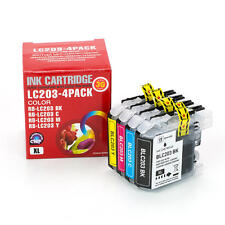 4PK ink for Brother LC203 MFC-J5720DW	MFC-J680DW	MFC-J880DW	MFC-J885DW