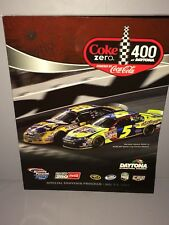 2008 Coke Zero 400 At Daytona NASCAR Sprint Cup Program+ Starting Lineup Sheet