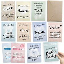 30+1 Meilenstein Foto- und Erinnerungs-Karten als Geschenk zur Schwangerschaft