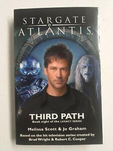 SGA#23 Fandemonium STARGATE : ATLANTIS Third Path Paperback Novel Book