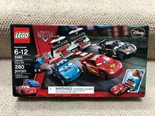 Lego 9485 Disney Cars Ultimate Race WGP Set Lightning Mcqueen Brand New! HTF