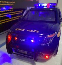 1/18 New York State Police Diecast FORD EXPLORER Replica W/working Light RARE