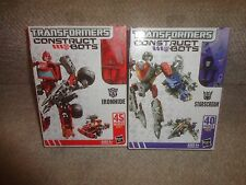 TRANSFORMERS CONSTRUCT BOTS IRON HIDE AND STARSCREAM, UNOPENED