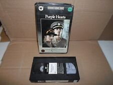 Tested! Purple Hearts VHS WB Original Large *Clamshell Big Box* 1st Edition 1984