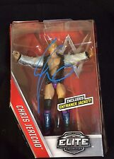WWE CHRIS JERICHO  Signed Mattel WWE Elite Series Action Figure