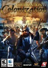 Civilization IV 4 Colonization Mac New in Box