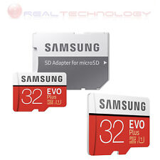 MICRO SD SAMSUNG EVO PLUS 32GB UHS-I CLASSE U3 MB-MC32GA/EU CON ADATTATORE