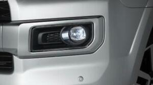 Toyota 4Runner 2018 - 2020 Black Finish LED Fog Lamp Set  - OEM NEW!