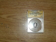 Octavian Augustus  ANACS Denarius AR minted 19-18 BC VG 4754882