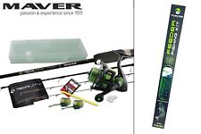 Maver Reality Feeder Fishing Kit. Rod, Reel, Tackle. Brand New + Free Delivery
