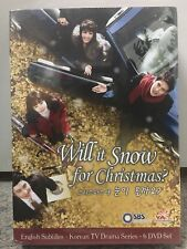 Will it Snow for Christmas?  (YA Entertainment Korean Drama - Complete Series)