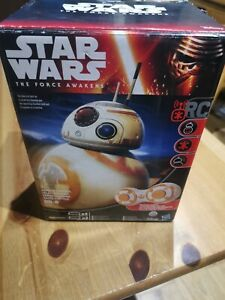 Star Wars the Force Awakens RC Remote Control BB8 Fully Working Unboxed